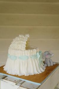 Bassinet Cake Tutorial Rosycakes